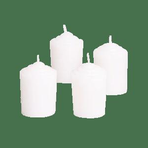 White Votive Candles