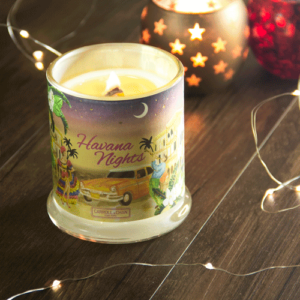 Havana Nights Beeswax Candle
