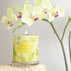 Ginger Lily Beeswax Candle