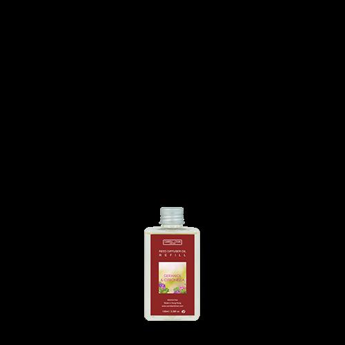 Geraniol, Citronella 100ml Diffuser Refill