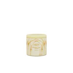 Prima Lux Unscented beeswax candle
