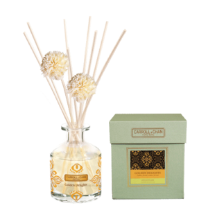 Golden Delights Reed Diffuser