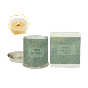 Green Tea Beeswax Jar Candle