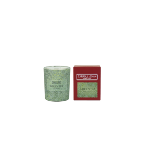 Green Tea Beeswax Votive Candle