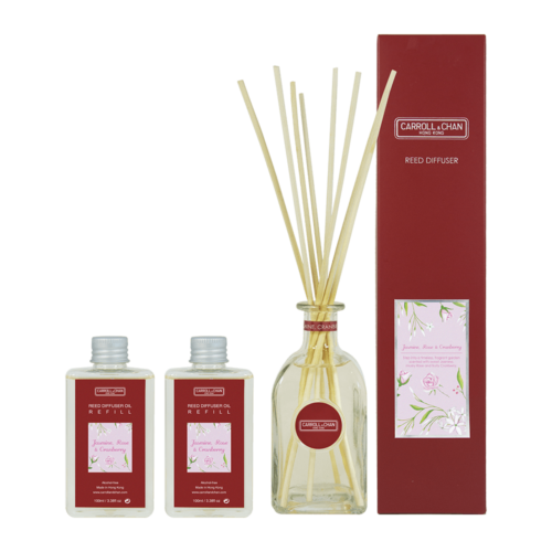 Jasmine Rose Cranberry Reed Diffuser 200ml