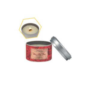 Red Red Rose Beeswax Tin Candle