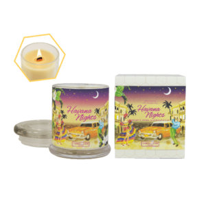 Havana Nights Beeswax Jar Candle