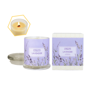 Lavender 100% Beeswax Jar Candle