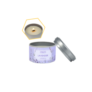 Lavender Beeswax Tin Candle