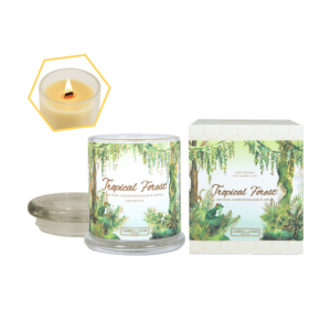 Tropical Forest Beeswax Jar Candle