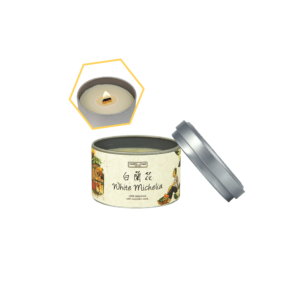 White Michelia Tin Candle