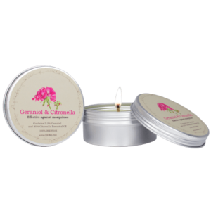 Genaroil & Citronella tin candle