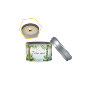 Tropical Forest Tin Candle