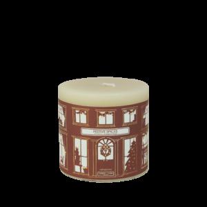 festive Spices pillar candle