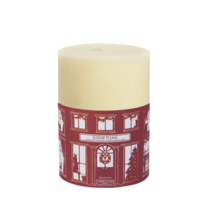 Christmas candle beeswax