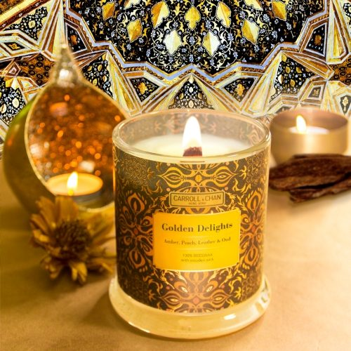 Golden Delights Candle
