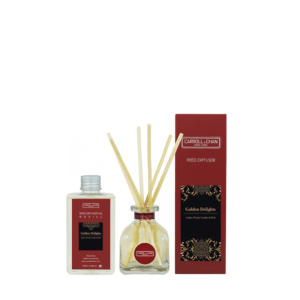 100ml Golden Delights Reed Diffuser