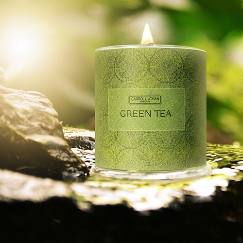 Green Tea Beeswax Candles
