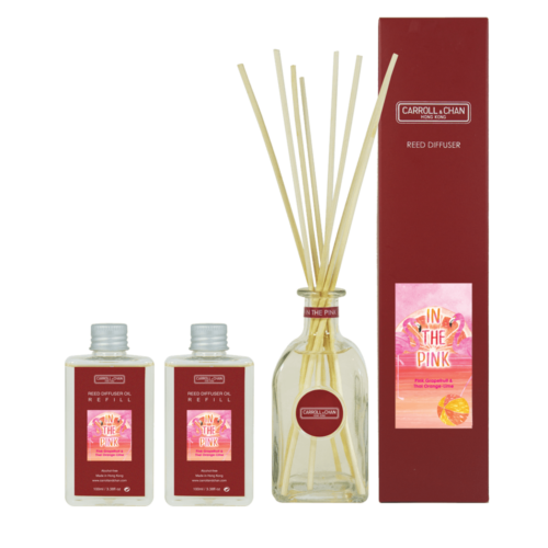 In The Pink 200ml reed diffuser