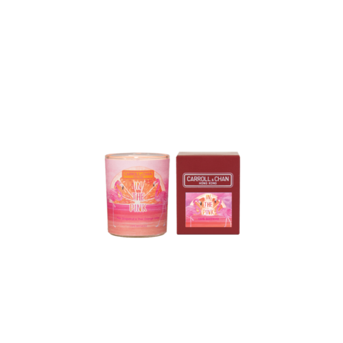 In The Pink Beeswax Votive