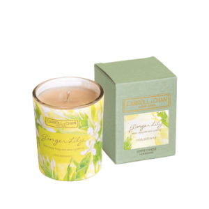 Ginger Lily Beeswax Votive Candle