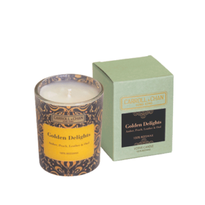 Golden Delights Beeswax Votive Candle