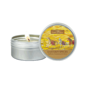 Eastern Spices Mini tin Candle
