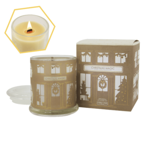 Beeswax Christmas Jar Candle