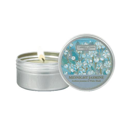 Midnight Jasmine Beeswax Candle