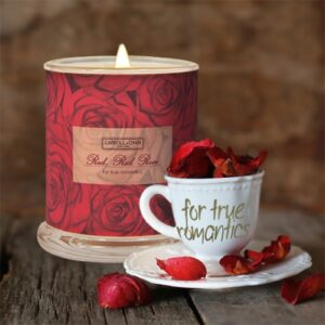 Red Red Rose Beeswax Candles