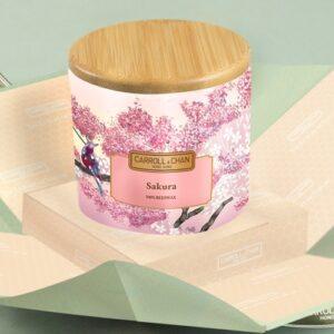 Sakura Beeswax Jar Candle