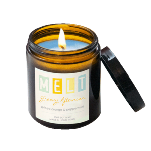 Groovy Afternoon Soy Wax Candle