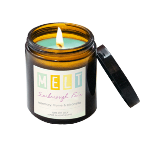 Scarborough Fair soy wax candle