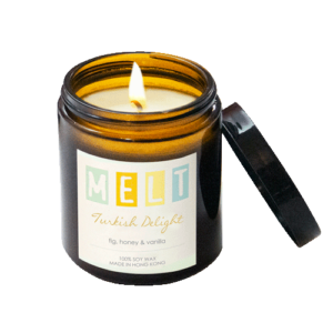 Turkish Delight soy wax candle