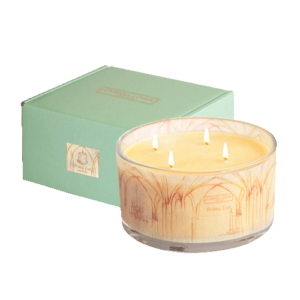 Prima Lux 4 wick beeswax jar candle